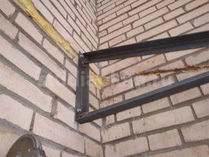 крепление консоли к стене