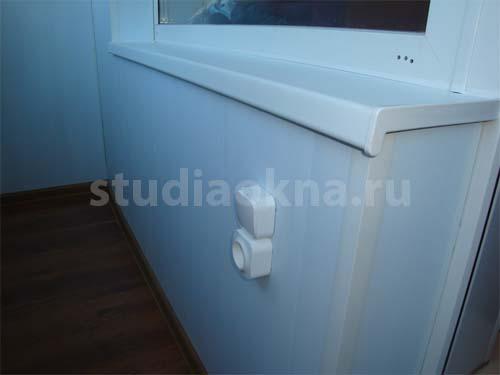 розетка накладная на балкон
