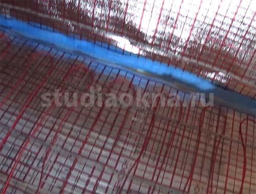 Греющий кабель для теплого пола на балконе