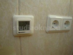 электронный терморегулятор для теплого пола на балконе