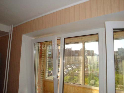 откос на окна из сэндвич-панели