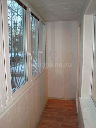 теплое остекление на балкон