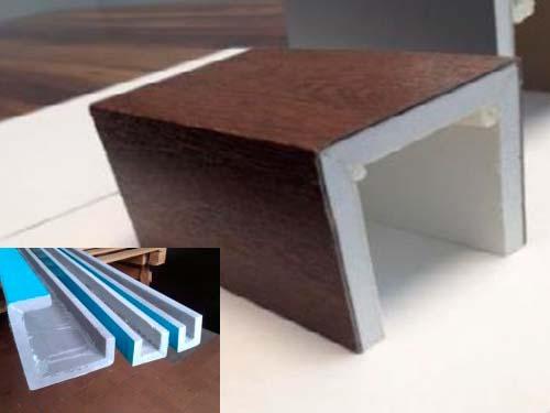 короб для утепления алюминиевого профиля