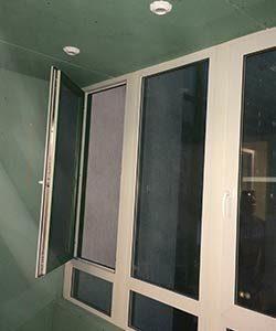 утепление лоджии с фасадным остеклением