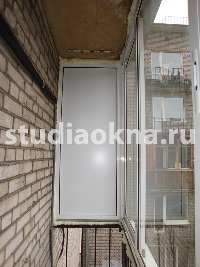 Остекление AL Provedal балкона