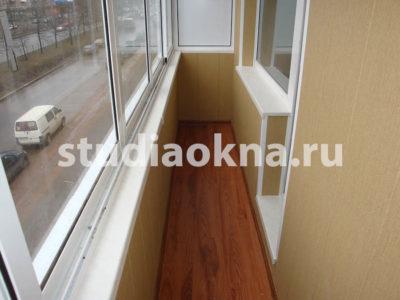 Остекление и отделка балкона видео+фото - ланское шоссе 65 -.