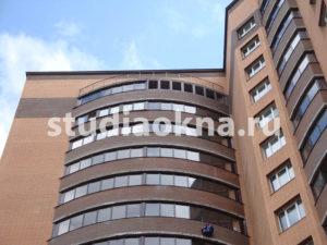 Замена холодного алюминиевого остекления на балконе
