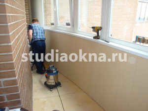 уборка на балконе