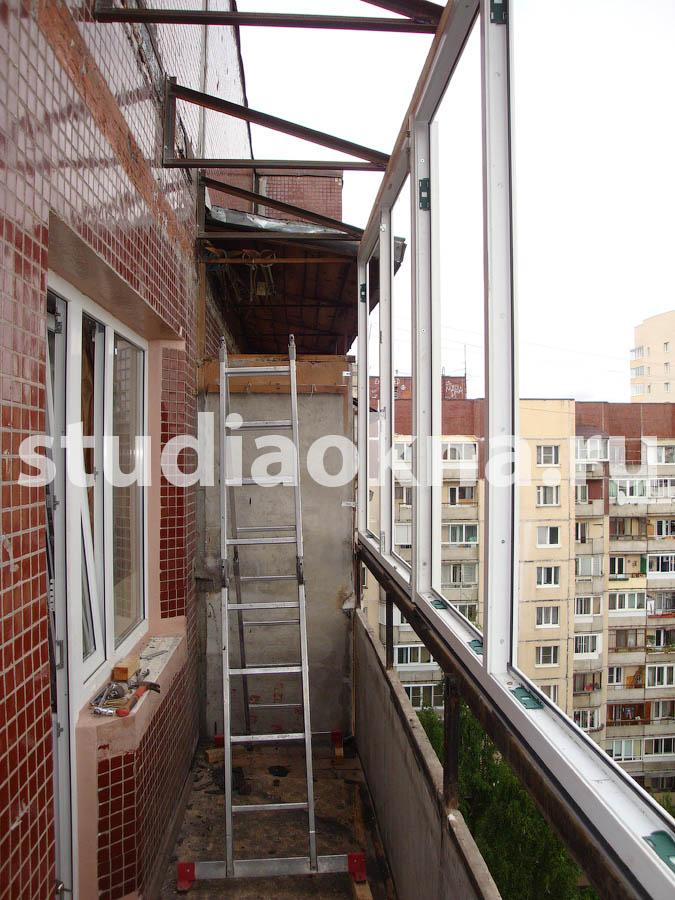 консоли для крыши на балконе