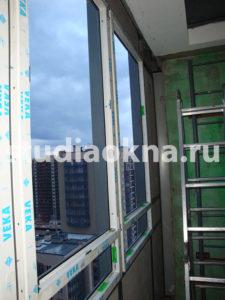 Замена фасадного алюминиевого остекления на теплое