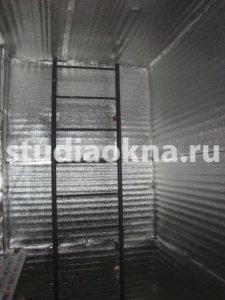 Утепление лоджии стенофоном