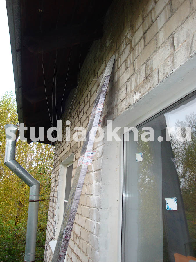 подготовка к остеклению балкона