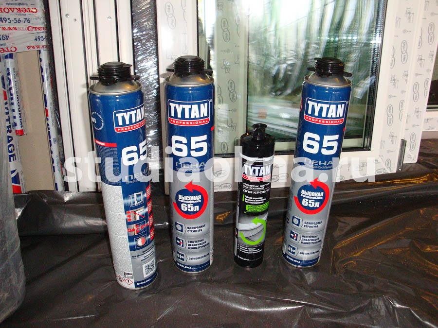 герметики tytan для балкона