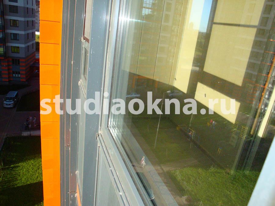 Замена холодного фасадного остекления без изменения внешнего вида