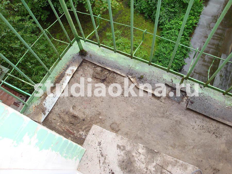 подготовка балкона к остеклению