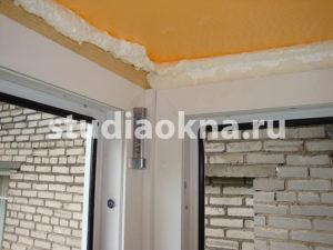 Утепление балкона пеноплексом