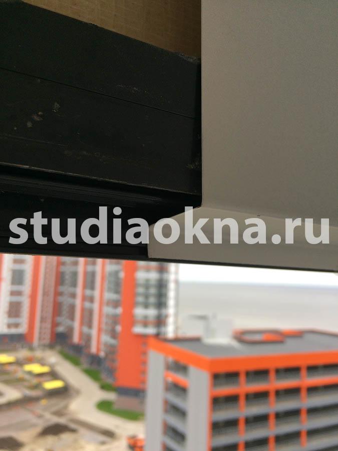Решение протечек на балконе в фасадной системе