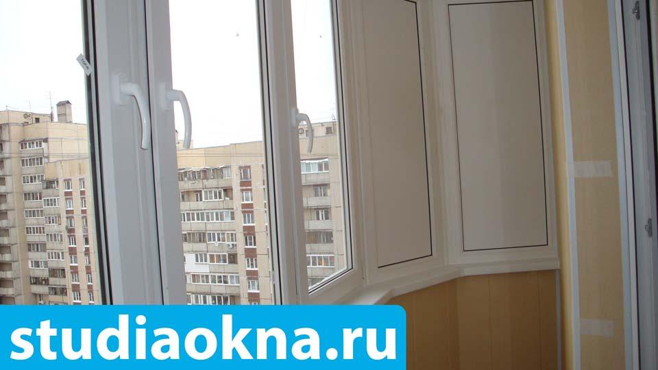 обшивка балкона пластиковыми панелями