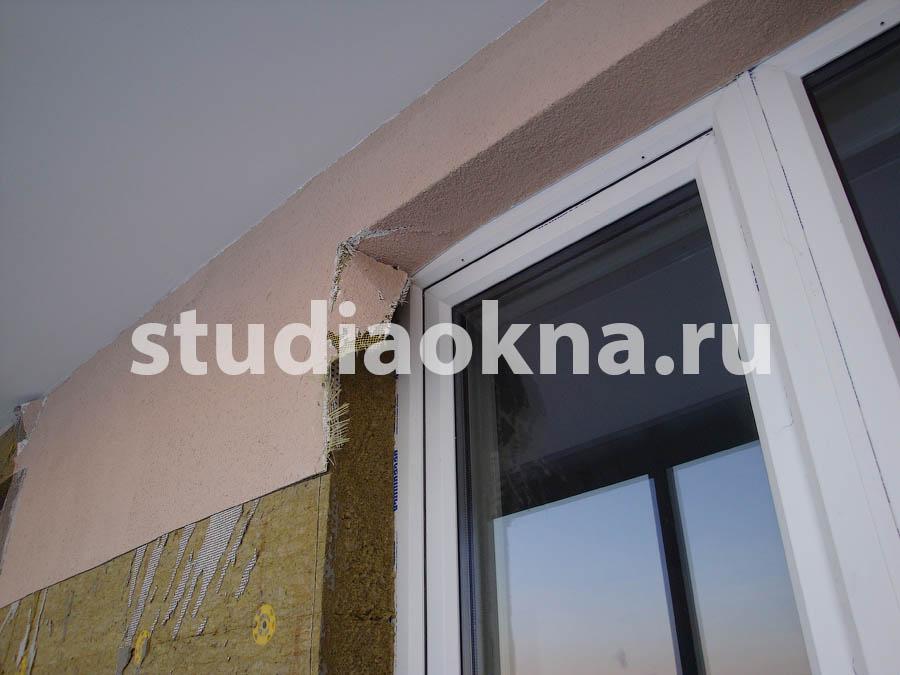 Демонтаж утеплителя на балконе