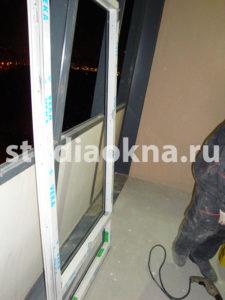 Замена холодного фасадного остекления на теплое