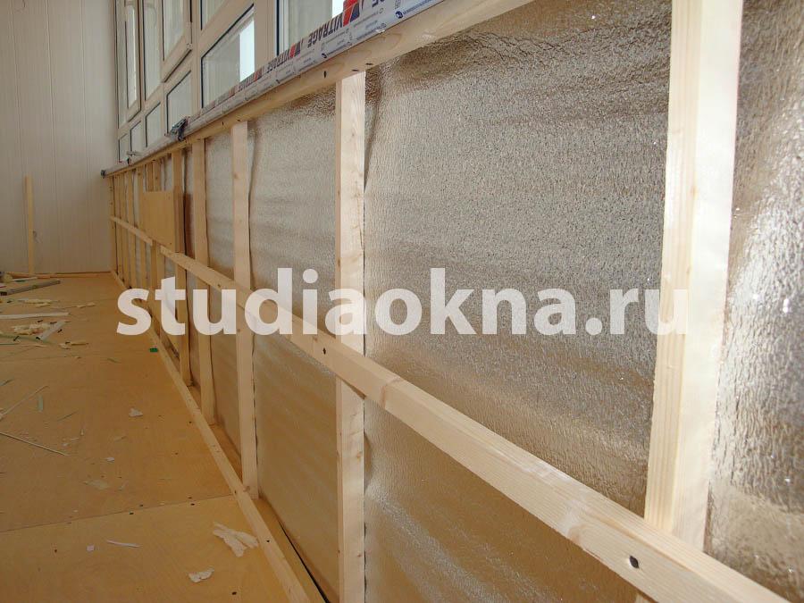 каркас для панелей на балконе