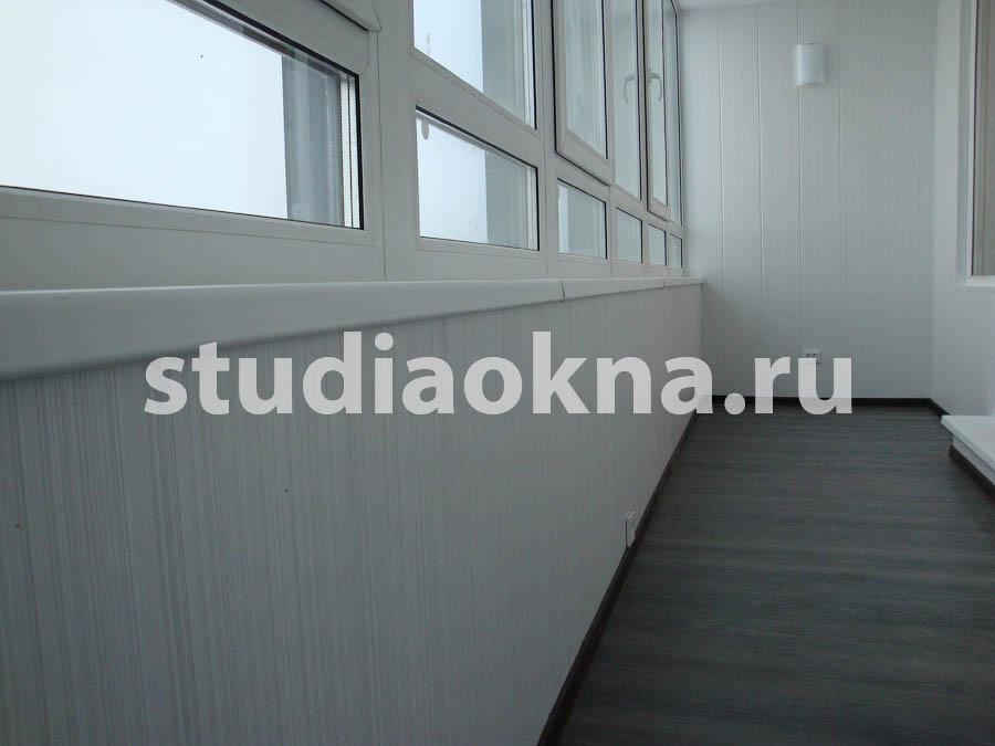 отделка периметра на балконе