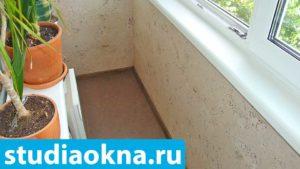 пробковое покрытие на балкон