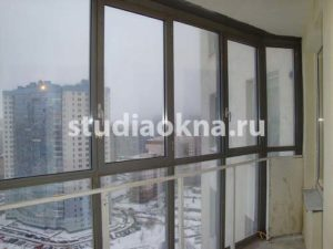 Замена холодного остекления на теплое в СПб