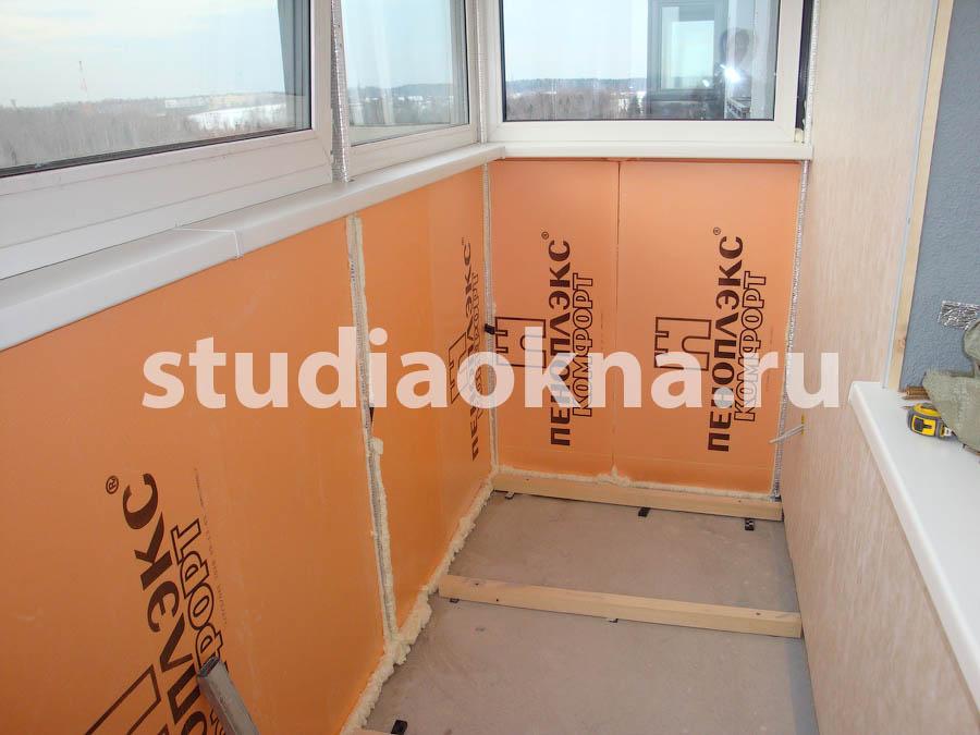 устройство пола на балконе