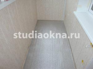 подложка на пол под ламинат на балконе