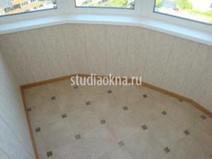 пол на балконе керамическим гранитом