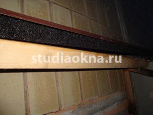 уплотнитель для крыши над балконом