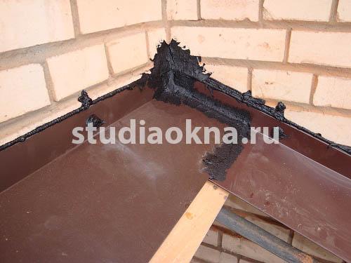 устройство крыши над балконом