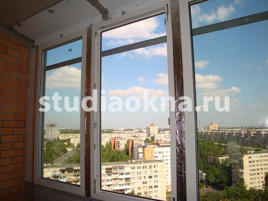 течет остекление балкона