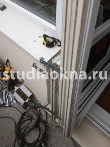 подготовка изделий пвх к установке на балконе