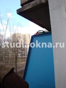 перегородка с соседом на балконе