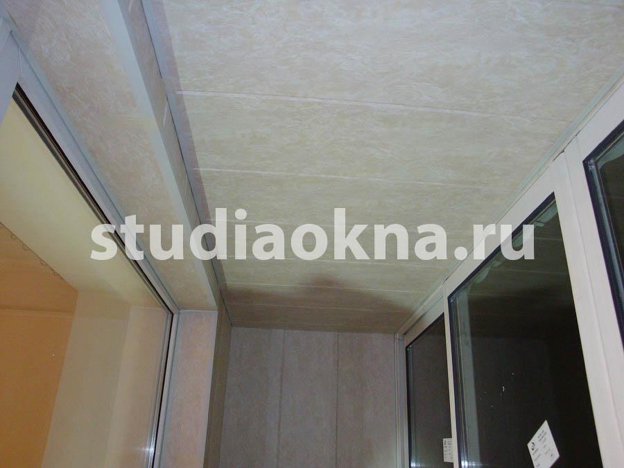 комплексная обшивка балкона