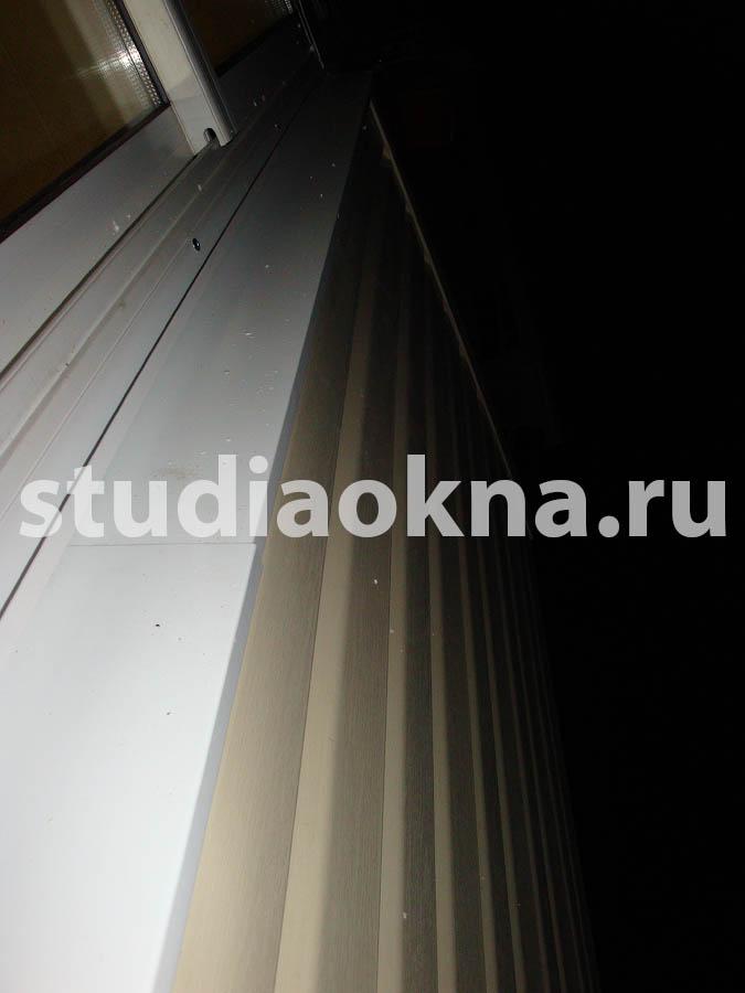 сайдинг на балкон