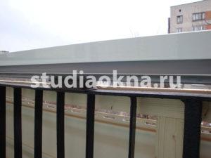сайдинг на балконе