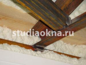 сварка консолей для крыши на балконе