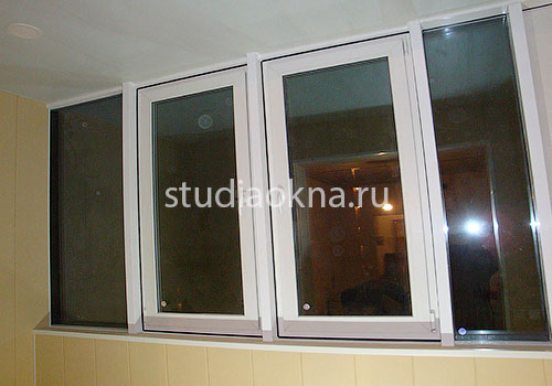 остекление отделка балкона