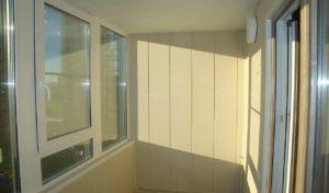 Балкон замена остекления