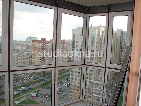 В новостройке течет балкон
