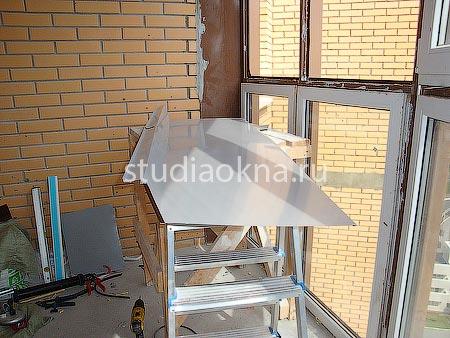 Течет балкон что делать