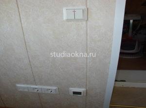 розетка выключатель термостат на балкон