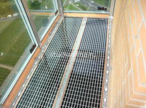плёночный тёплый пол на балкон