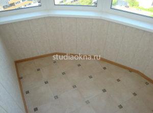 плитка на пол на балконе