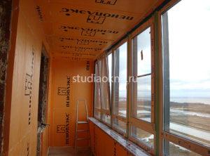 утепление балкона в СПб