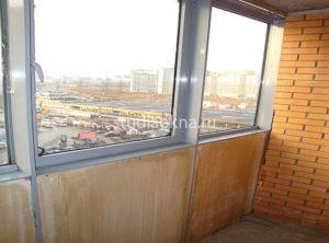 Тёплое остекление балкона в новостройке